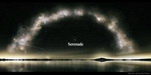 Rating: Safe Score: 44 Tags: kijineko nobody original reflection scenic sky stars watermark User: RyuZU