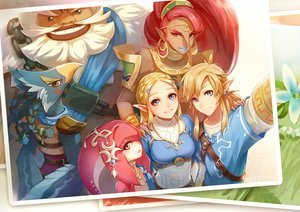 Rating: Safe Score: 53 Tags: animal armor bird blonde_hair blue_eyes brown_eyes dark_skin daruk green_eyes group headdress link_(zelda) long_hair male orange_eyes pointed_ears ponytail princess_mipha princess_zelda red_hair revali tagme_(artist) the_legend_of_zelda urbosa white_hair User: otaku_emmy