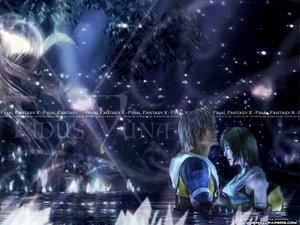 Rating: Safe Score: 7 Tags: final_fantasy final_fantasy_x tidus yuna_(ffx) User: Oyashiro-sama