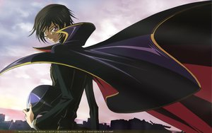 Rating: Safe Score: 8 Tags: all_male code_geass lelouch_lamperouge male User: Oyashiro-sama