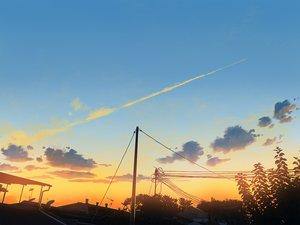 Rating: Safe Score: 32 Tags: aliasing building clouds mclelun original scenic sky sunset watermark User: RyuZU