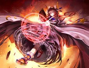 Rating: Safe Score: 130 Tags: kozou_(soumuden) mage magic patchouli_knowledge touhou User: FormX