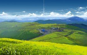 Rating: Safe Score: 139 Tags: building clouds flowers grass izechou landscape scenic sky windmill User: Mund