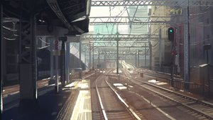 Rating: Safe Score: 129 Tags: building city niy_(nenenoa) nobody scenic train User: Flandre93