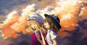 Rating: Safe Score: 18 Tags: 2girls maribel_han tagme tagme_(artist) touhou usami_renko User: luckyluna