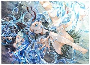 Rating: Safe Score: 93 Tags: barefoot bottle_miku bubbles deep-sea_girl_(vocaloid) hatsune_miku iroha_(shiki) underwater vocaloid water User: FormX
