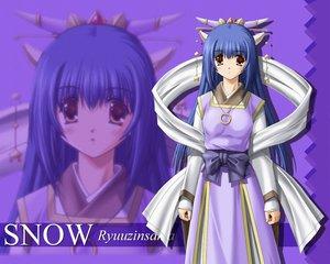 Rating: Safe Score: 1 Tags: blue_hair long_hair purple ryuuzin-sama snow_(game) User: jjj14