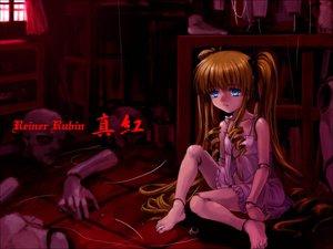 Rating: Safe Score: 4 Tags: blonde_hair blue_eyes doll jpeg_artifacts long_hair moonknives puppet red rozen_maiden shinku twintails User: Oyashiro-sama