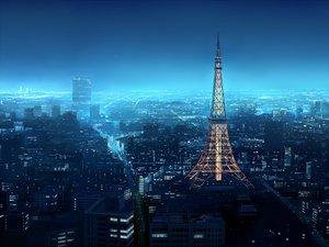 Rating: Safe Score: 194 Tags: building city night nobody original scenic seo_tatsuya User: HawthorneKitty