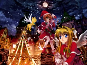 Rating: Safe Score: 22 Tags: air card_captor_sakura kamio_misuzu kero kinomoto_sakura User: 秀悟