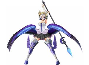 Rating: Safe Score: 102 Tags: armor blue_eyes gray_hair gwendolyn odin_sphere skirt takebi weapon white wings User: Maboroshi