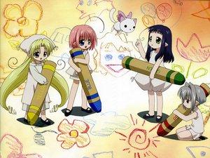 Rating: Safe Score: 1 Tags: bottle_fairy chiriri hororo kururu oboro pointed_ears sarara User: Oyashiro-sama