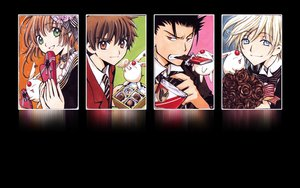Rating: Safe Score: 40 Tags: black black_hair blonde_hair blue_eyes bow brown_eyes brown_hair candy chocolate clamp fay_d_flourite food green_eyes kurogane male mokona red_eyes sakura_(tsubasa) short_hair syaoran third-party_edit tie tsubasa_reservoir_chronicle valentine User: Cheesestorm