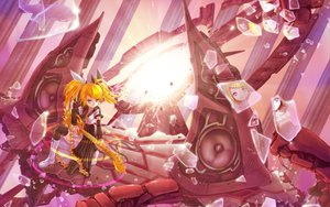 Rating: Safe Score: 36 Tags: boots crazypen guitar instrument kagamine_rin thighhighs twintails vocaloid User: HawthorneKitty