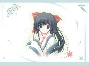 Rating: Safe Score: 16 Tags: black_hair japanese_clothes nagomi tenmu_shinryuusai white User: Oyashiro-sama