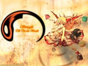 Rating: Safe Score: 12 Tags: blonde_hair brown_eyes dress horns ibuki_suika long_hair ribbons tateha touhou yellow User: Oyashiro-sama