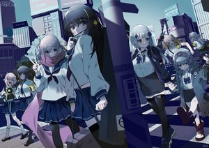 Rating: Safe Score: 24 Tags: anthropomorphism bsue g11_(girls_frontline) girls_frontline group hk416_(girls_frontline) loli m16a1_(girls_frontline) m4a1_(girls_frontline) m4_sopmod_ii_(girls_frontline) seifuku st_ar-15_(girls_frontline) thighhighs ump-45_(girls_frontline) ump-9_(girls_frontline) User: Dreista