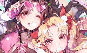 Rating: Safe Score: 49 Tags: 2girls close ereshkigal_(fate/grand_order) fate/grand_order fate_(series) ishtar_(fate/grand_order) kanola_u User: Dreista