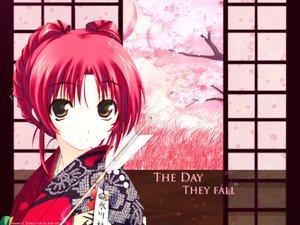 Rating: Safe Score: 15 Tags: amaduyu_tatsuki aquaplus cherry_blossoms japanese_clothes kimono kousaka_tamaki leaf petals red_hair to_heart to_heart_2 User: Oyashiro-sama