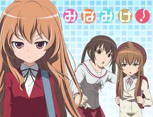 Rating: Safe Score: 36 Tags: aisaka_taiga crossover minami-ke minami_chiaki minami_kana toradora User: lost91colors