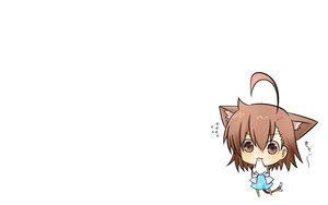 Rating: Safe Score: 34 Tags: animal_ears blush brown_hair chibi last_order rubii short_hair tail to_aru_majutsu_no_index white User: SciFi