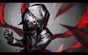 Rating: Safe Score: 334 Tags: all_male kaneki_ken male mask red_eyes tokyo_ghoul yucca-612 User: Flandre93