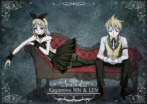 Rating: Safe Score: 26 Tags: couch kagamine_len kagamine_rin male vocaloid User: HawthorneKitty