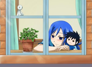 Rating: Safe Score: 4 Tags: blue_eyes blue_hair bluesnowcat blush doll fairy_tail flowers gray_fullbuster juvia_loxar short_hair waifu2x User: RyuZU