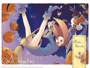Rating: Safe Score: 9 Tags: gagraphic halloween logo tobe_sunaho watermark User: Oyashiro-sama