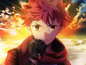 Rating: Safe Score: 103 Tags: all_male emiya_shirou fate_(series) fate/stay_night magicians male red_hair yellow_eyes User: Flandre93