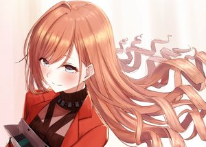 Rating: Safe Score: 37 Tags: aqua_eyes arisugawa_natsuha brown_hair harukana_(harukana_10) idolmaster idolmaster_shiny_colors long_hair valentine User: RyuZU