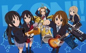 Rating: Safe Score: 82 Tags: akiyama_mio drums guitar headband hirasawa_yui instrument kneehighs k-on! kotobuki_tsumugi nakano_azusa pantyhose school_uniform tainaka_ritsu twintails User: meccrain