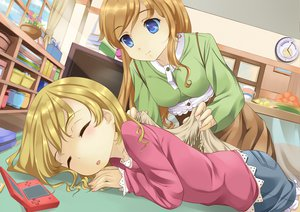 Rating: Safe Score: 40 Tags: game_console sleeping tagme User: HawthorneKitty
