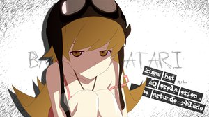 Rating: Safe Score: 59 Tags: bakemonogatari blonde_hair dress goggles hat long_hair monogatari_(series) oshino_shinobu summer_dress yellow_eyes User: 秀悟