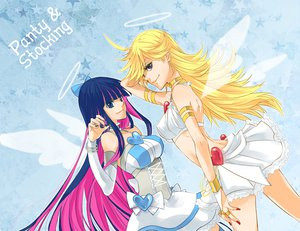 Rating: Safe Score: 52 Tags: panty_&_stocking_with_garterbelt panty_(character) stocking_(character) User: HawthorneKitty