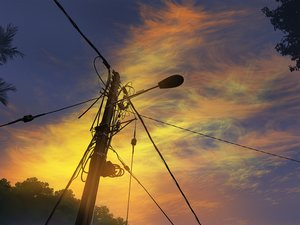 Rating: Safe Score: 27 Tags: clouds mclelun original sky sunset watermark User: RyuZU