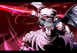 Rating: Safe Score: 15 Tags: jpeg_artifacts red_eyes remilia_scarlet touhou vampire wings User: Oyashiro-sama