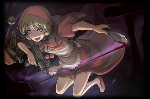 Rating: Safe Score: 85 Tags: blonde_hair blood bulleta capcom darkstalkers dress gun tea_(nakenashi) weapon User: HawthorneKitty