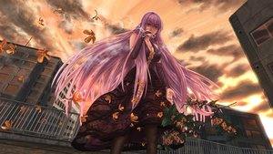Rating: Safe Score: 81 Tags: blue_eyes breasts cigarette cleavage dress flowers long_hair maru0911 megurine_luka pink_hair smoking vocaloid User: FormX