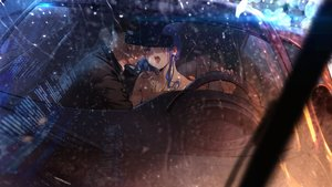 Rating: Safe Score: 49 Tags: aaa606 anthropomorphism azur_lane car kiss night rain st._louis_(azur_lane) water User: mattiasc02