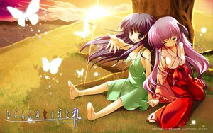 Rating: Safe Score: 69 Tags: furude_rika hanyuu higurashi_no_naku_koro_ni horns japanese_clothes miko User: haru3173