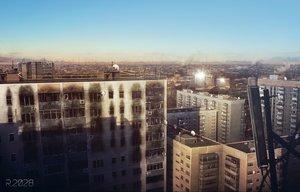 Rating: Safe Score: 184 Tags: building city clouds jpeg_artifacts nobody original scenic sky yu-kun User: Flandre93