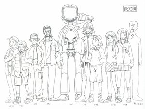 Rating: Safe Score: 9 Tags: canti flcl monochrome white User: atlantiza
