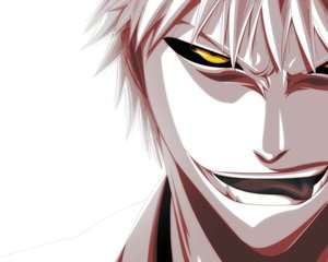 Rating: Safe Score: 75 Tags: all_male bleach kurosaki_ichigo male polychromatic white yellow_eyes User: Kishin110