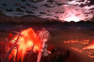 Rating: Safe Score: 61 Tags: fire fujiwara_no_mokou husky_(artist) tagme touhou User: Zolxys