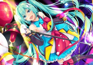 Rating: Safe Score: 53 Tags: hatsune_miku kana616 magical_mirai_(vocaloid) vocaloid watermark User: Dreista