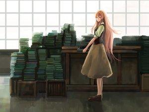 Rating: Safe Score: 49 Tags: book jinrui_wa_suitai_shimashita long_hair watashi_(jinrui_wa_suitai_shimashita) User: BoobMaster