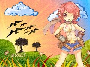 Rating: Safe Score: 3 Tags: pink_hair ragnarok_online scarf shorts User: Oyashiro-sama