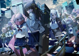 Rating: Safe Score: 74 Tags: anthropomorphism bsue g11_(girls_frontline) girls_frontline group hk416_(girls_frontline) loli m16a1_(girls_frontline) m4a1_(girls_frontline) m4_sopmod_ii_(girls_frontline) school_uniform st_ar-15_(girls_frontline) thighhighs ump-45_(girls_frontline) ump-9_(girls_frontline) User: Dreista