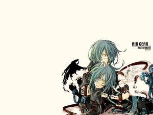 Rating: Safe Score: 12 Tags: air_gear wanijima_agito wanijima_akito User: Oyashiro-sama